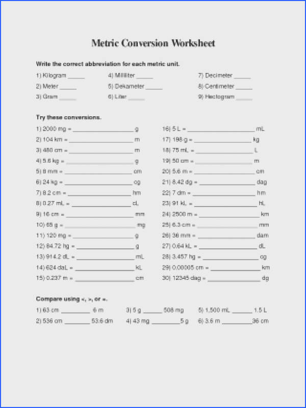 Mathion Worksheets Metric Worksheet Answers Ms Friedman039s Measurement Grade Measuring 2nd Math Conversion mon Core 4th
