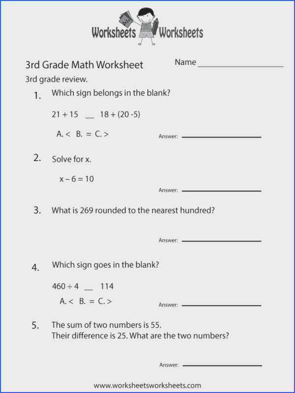 Fractionorksheets 3rd Grade Math Revieworksheet Printable mon Coreord Problems Subtraction Fraction Worksheets Core Rounding Pdf 720