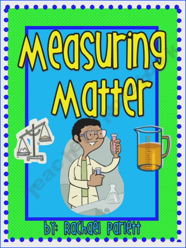 A good teacher resource for a unit on matter It is full of objectives activities and worksheets