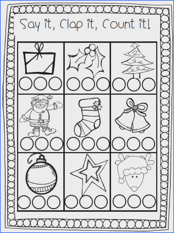 By The 2 Teaching Divas UPDATED This kindergarten Christmas pack includes the