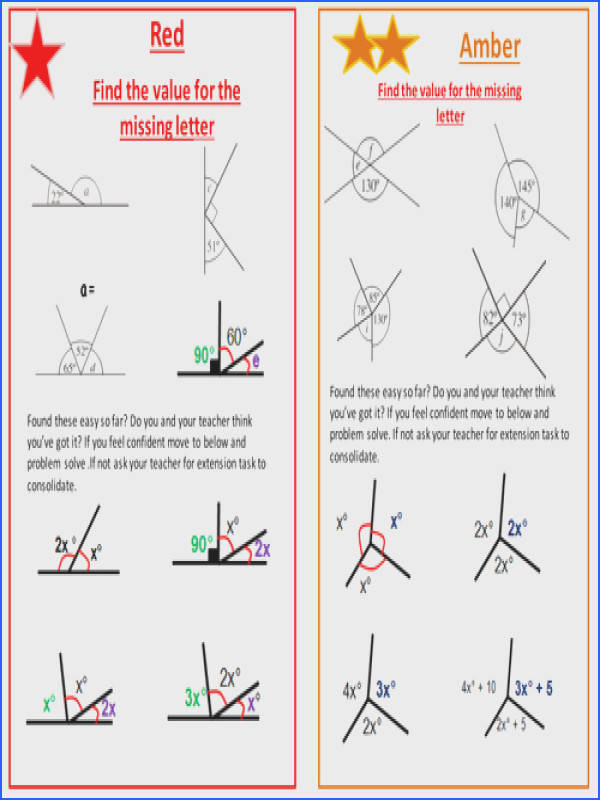 Mesmerizing Missing Angles In Triangles Worksheet Tes In Calculate Missing Angles Ks3 Gcse By itmaths