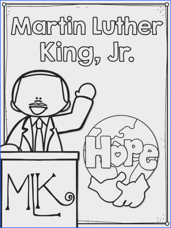 Martin Luther King Coloring Pages Martin King Jr Coloring Pages Mlk Coloring Pages Free