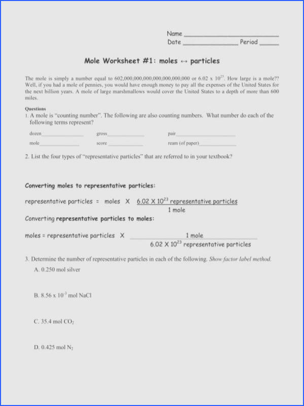 mole conversions worksheet answers all grade worksheets unit conversions and factor label method