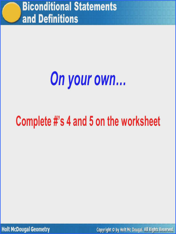 17 your own… plete s 4 and 5 on the worksheet