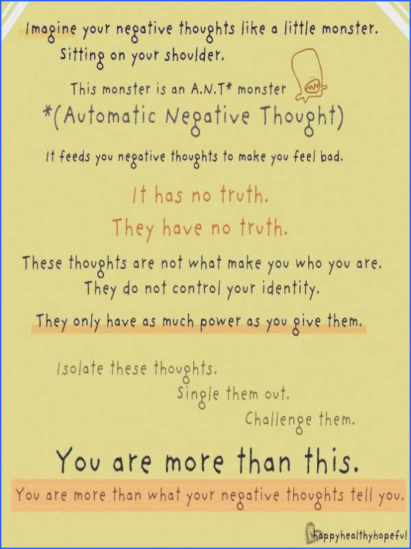 therapy worksheet for kids you are more than your thoughts