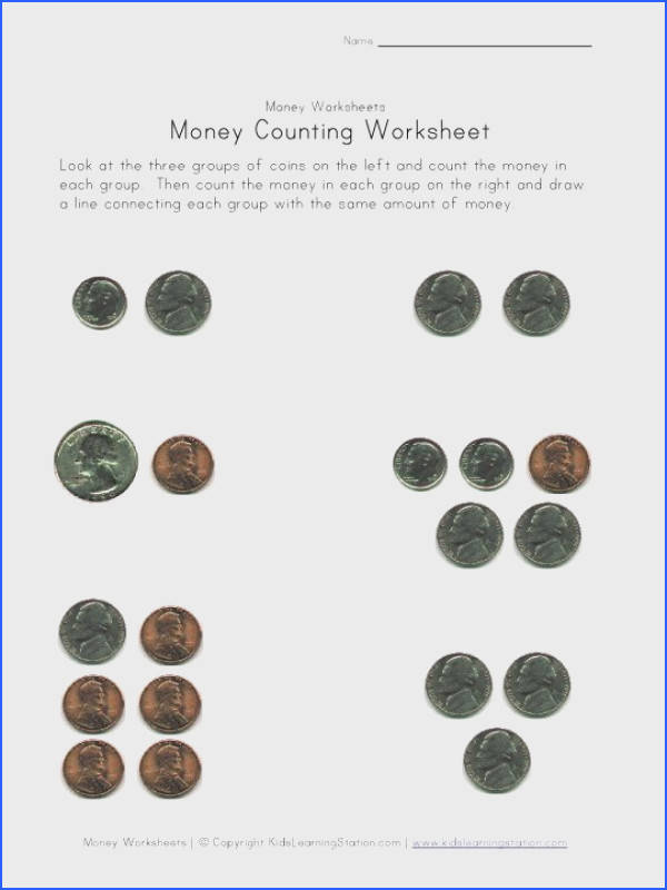 Money worksheets for kids Check out our different sets of printable money worksheets for kids to practice recognizing different types of money