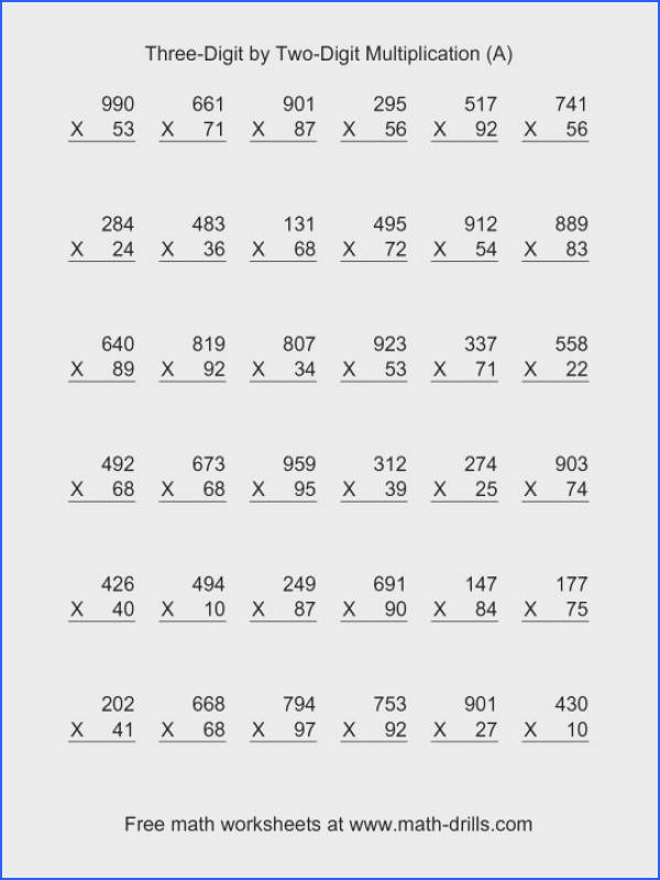 Multiplication Worksheet Pdf Word Problems Worksheets Fore Multiplying Fraction Decimal And Division Matrix Table Practice 4th