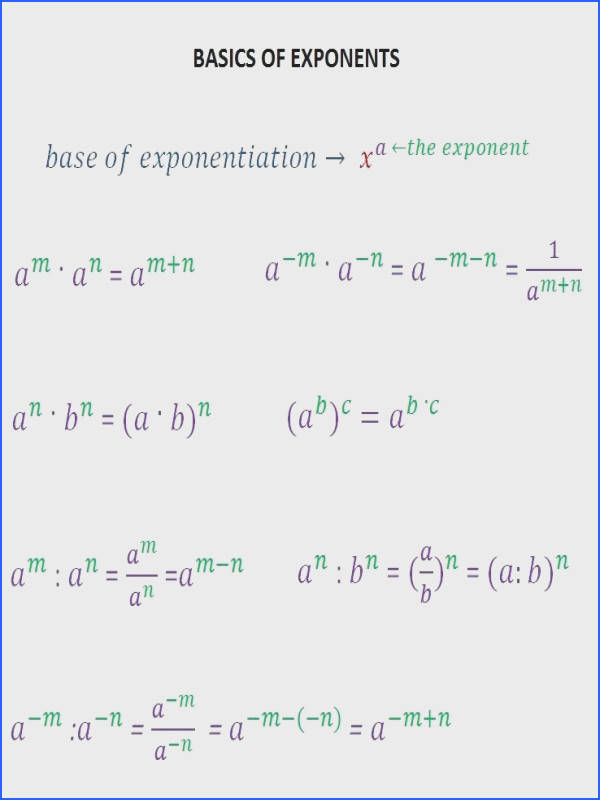 Multiplying And Dividing Exponents Visualize Multiplying And Dividing Exponents Ravishing Multiplication Division