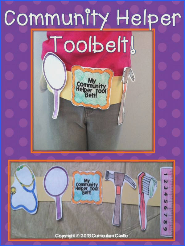 munity Helpers Thematic Unit Activities and Printables