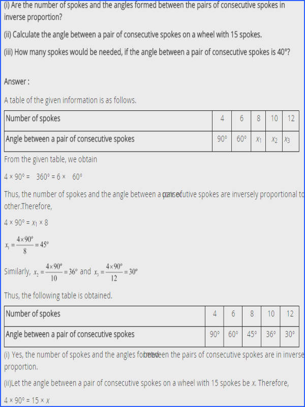 NCERT Solutions for Class 8 Maths Direct and Inverse Proportions Ex 13 2