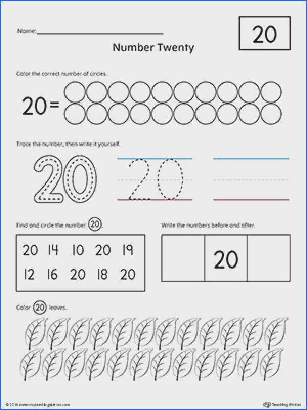 My Teaching Station free writing numbers worksheets help reinforcing the concept of counting and number recognition Help your child practice their writing