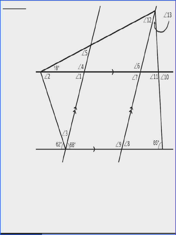 Parallel and Perpendicular Line Puzzles Extra Credit