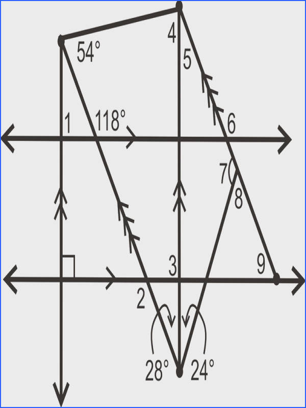 """Angle Pair Relationships Kuta Software""""""""sc"""" 1""""th"""" 193 image number 18 of parallel lines and transversals worksheet"""