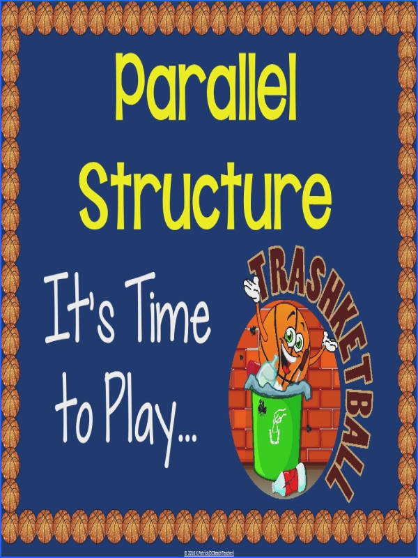 Engage your students and help them review parallel structure with this fun game