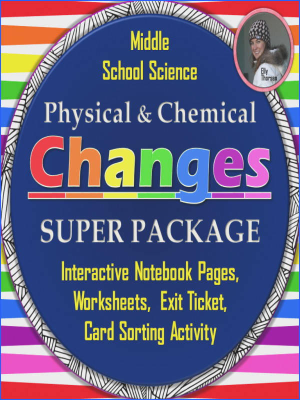 Great resources for your physical and chemical changes unit