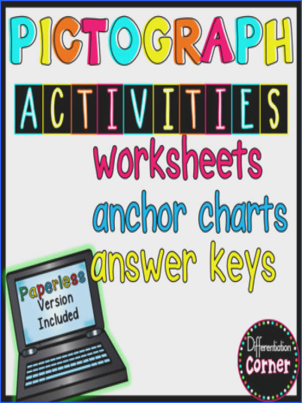 Pictograph worksheets and anchor charts Pictograph worksheets and anchor charts