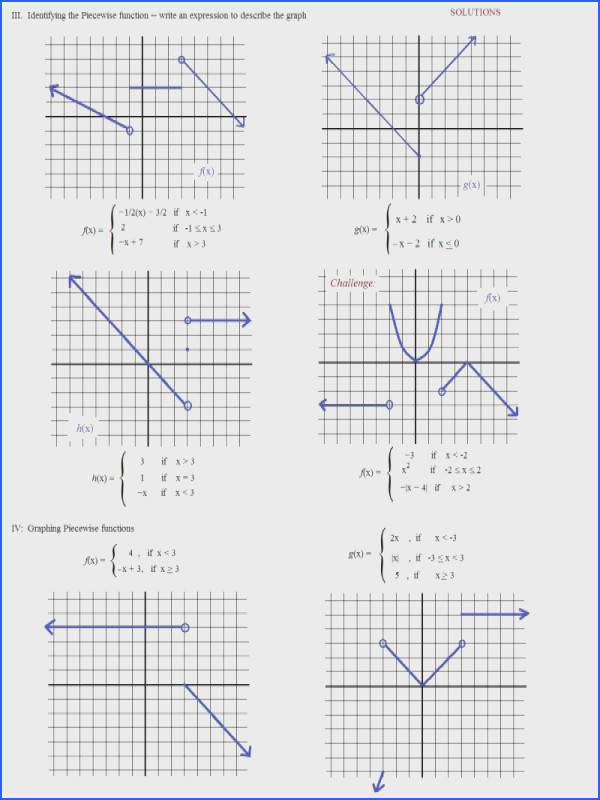 Piecewise Functions Worksheet And Answers Worksheets · Example About Homework Help And Piecewise Function