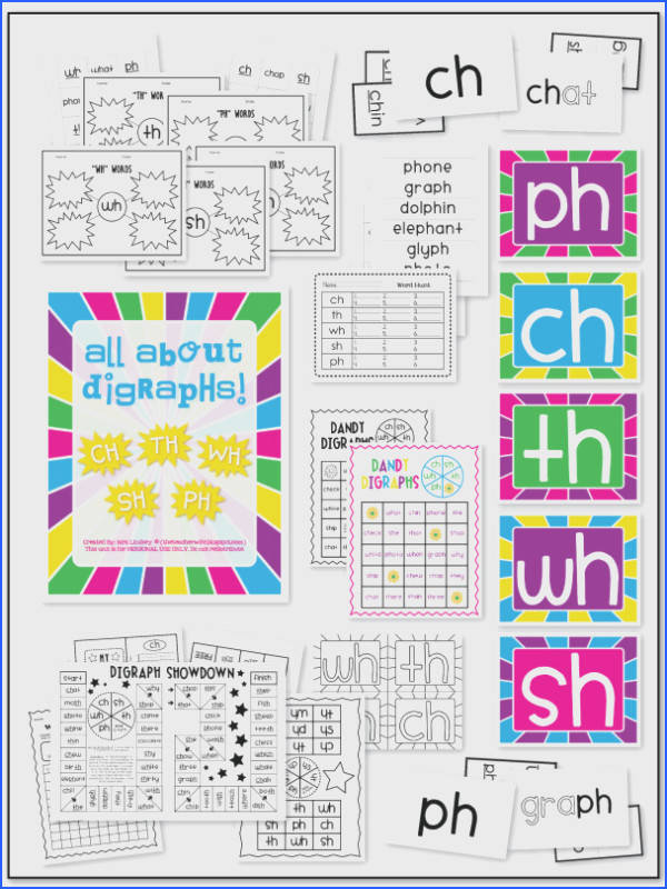 Pin by Jeanette Mo on Digraphs SH TH WH CH Pinterest