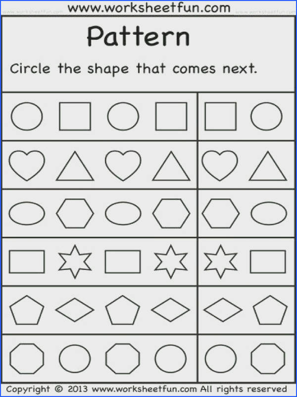 Explore Shape Worksheets For Preschool and more