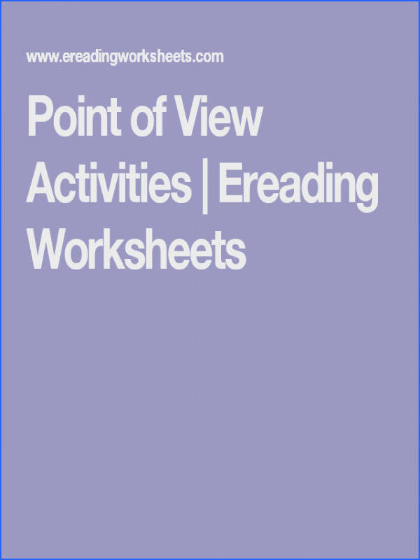 Students · Point of View Activities