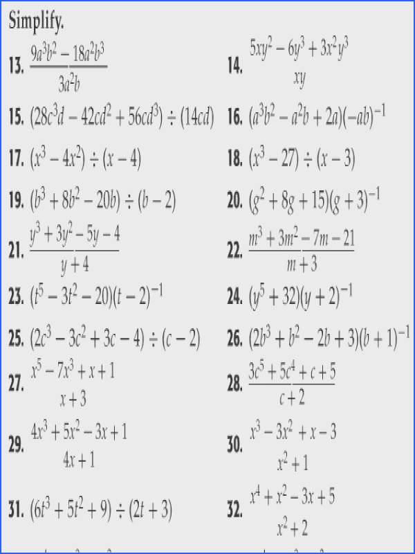 Polynomial Addition And Subtraction Worksheet Worksheets for all Download and Worksheets