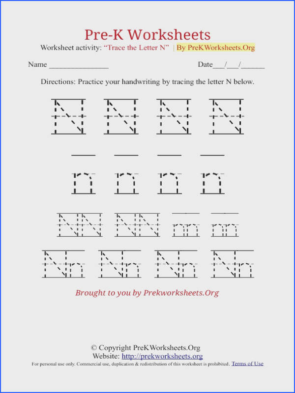 Pre K Alphabet Tracing Worksheets in PDF Learn to Trace Alphabet Letters with our Free A to Z Printable Pre K Tracing Worksheets