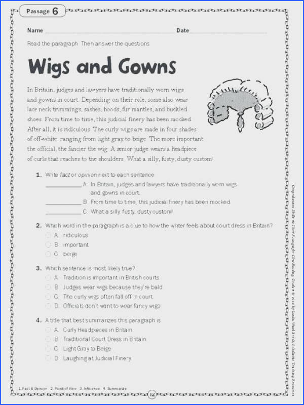 prehension worksheets for grade 3 and free printable fifth grade reading prehension worksheets prehension perfect reading