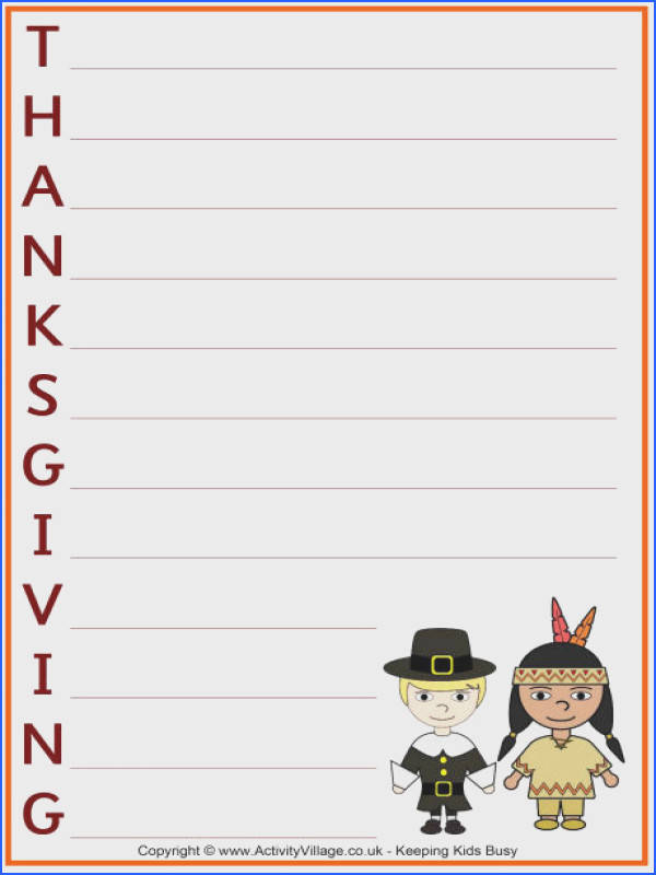 printable thanksgiving acrostic poems template