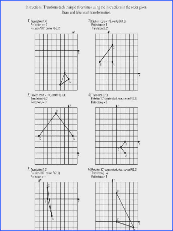 dilations worksheet kuta unique translations math koogra drills awesome ideas about transformation wedding a part of