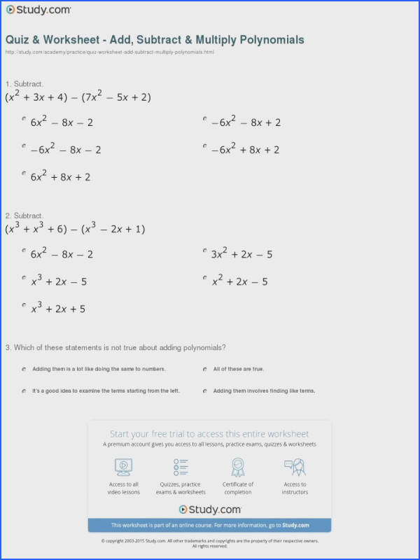 Math Worksheets Multiplication Binomials Worksheet Multiplying Polynomials Word Document Containing Radicals Two Milliken Publishing pany