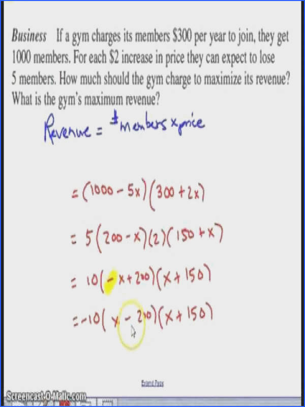 Quadratic Equation Word Problems Worksheet With Answers Worksheets for all Download and Worksheets