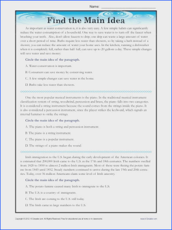 Reading prehension For High School Students Worksheets Free Worksheets for all Download and Worksheets