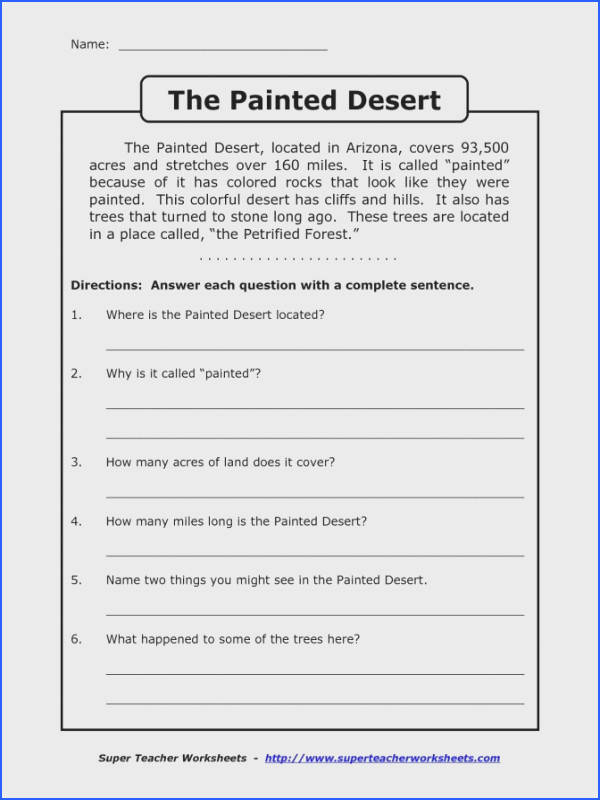 Reading prehension Worksheets 3Rd Grade Multiple Choice Worksheets for all Download and Worksheets