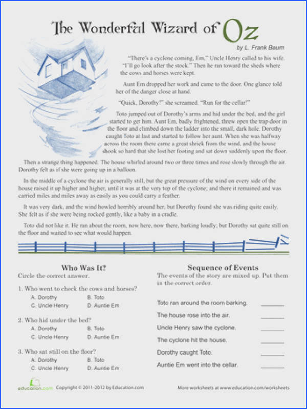 Reading prehension worksheets 5 th grade absolute print rocky relationships and plants are producers worksheet