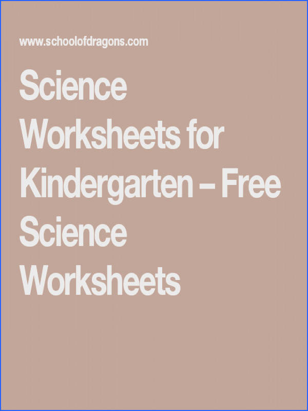 Do you want to introduce your kindergartner to science Check out these free printable kindergarten science worksheets that have been designed keeping in
