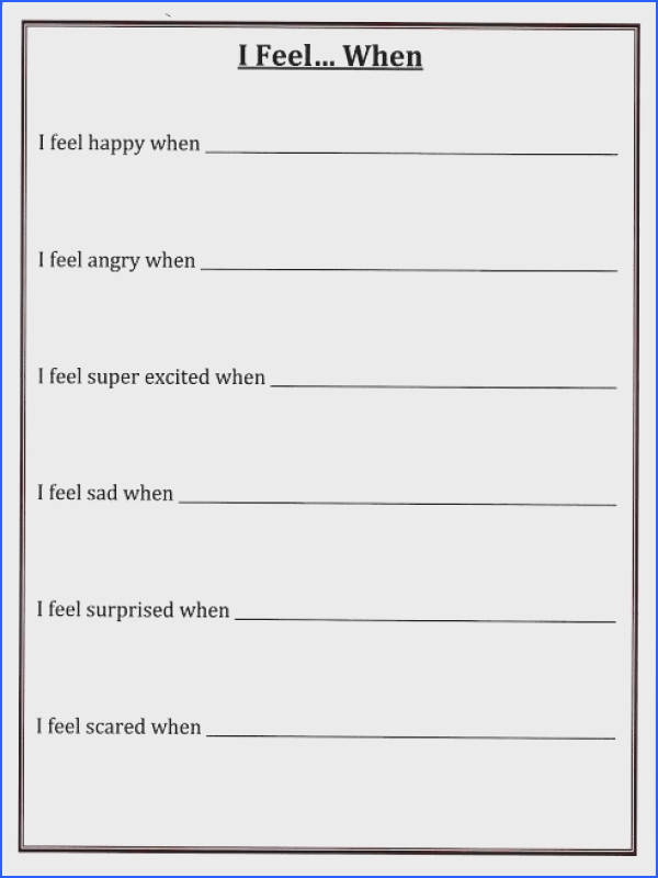 Self Esteem Worksheets Image Below who Am I Worksheet
