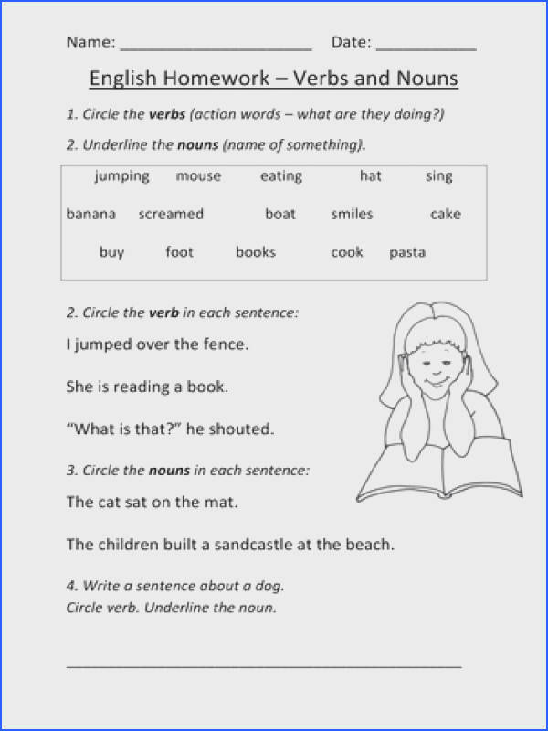 Transform Sentences With Nouns And Adjectives Worksheets With Nouns And Verbs Worksheet Ks1 By Mignonmiller