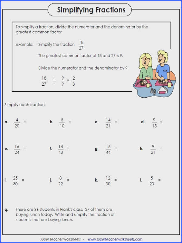 Fraction worksheets include ordering fractions paring fractions equivalent fractions and finding fractions of a number