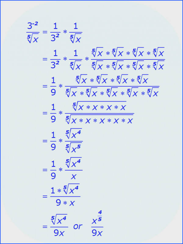 Math Simplifying Radical Expressions example 2