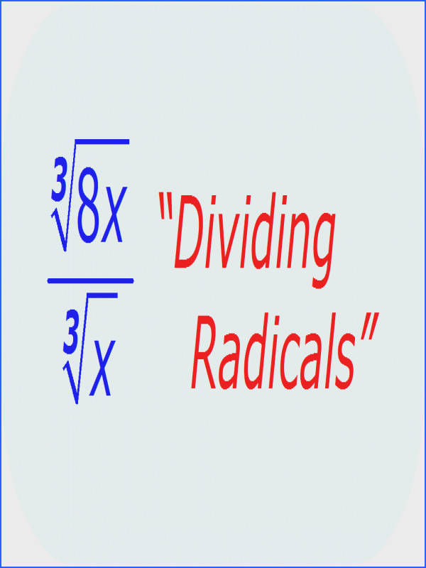 Simplifying Radicals FRACTIONAL EXPONENTS & ROOTS