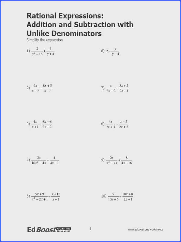 expressions multiplying · rational expressions worksheet expandingme co