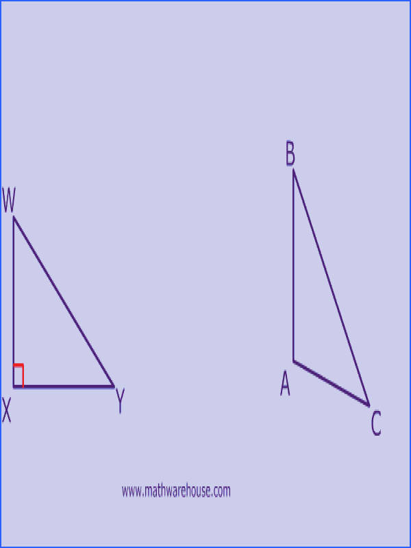To which triangle s below does SOHCAHTOA apply