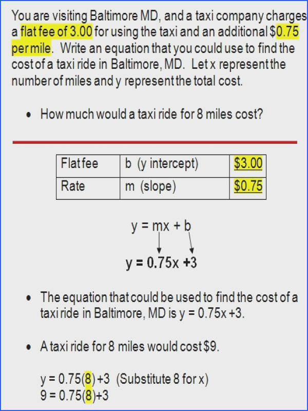 Writing Equations In Slope Intercept Form with Writing Equations In Slope Intercept Form Worksheet