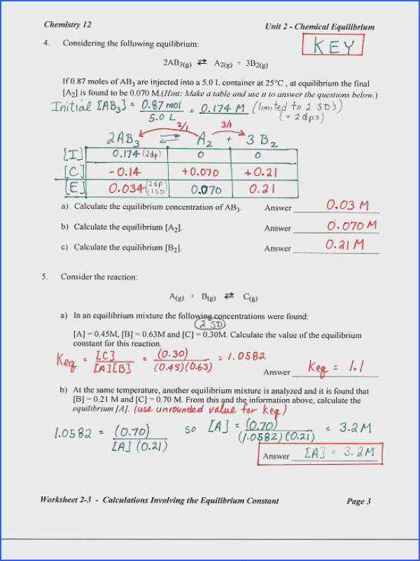 Solubility Graph Worksheet Answer Key