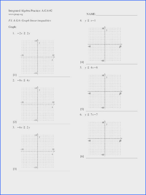 Graphing Linear Inequalities Worksheet Switchconf