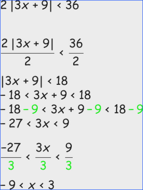 solving inequalities with absolute value from Math Planet