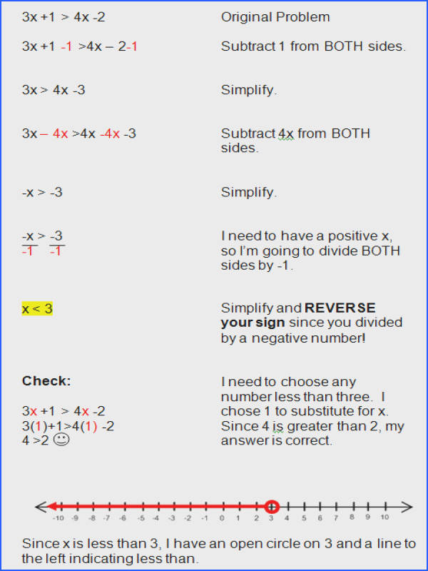 Solving Inequalities Worksheet With Answers Worksheets for all Download and Worksheets