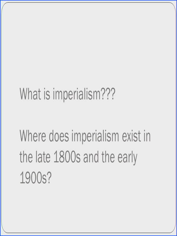 Spanish American War 2 What is imperialism
