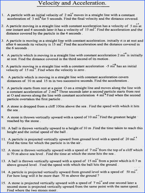 graphing acceleration worksheet worksheets for school leafsea · question sheets gcse maths sd distance time worksheet