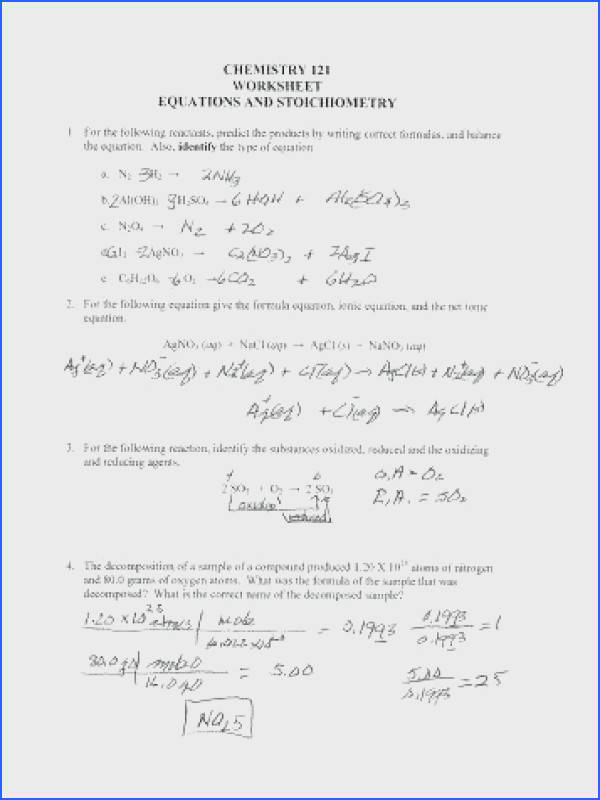 stoichiometry worksheet answers and chemistry worksheet answers inspiring stoichiometry worksheet 1 answers